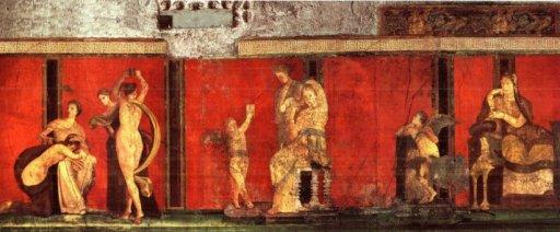pompei villa misteri di dioniso