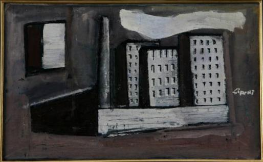 Mario Sironi paesaggio urbano