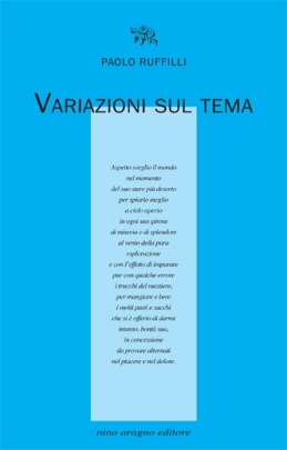 Paolo Ruffilli Variazioni copertina