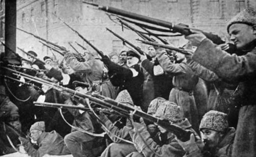 rivoluzione d'ottobre i bolscevichi