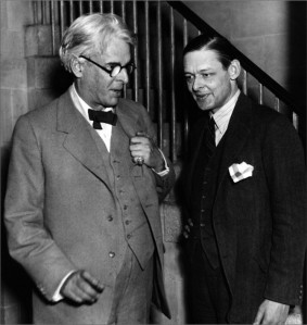 Yeats and Eliot