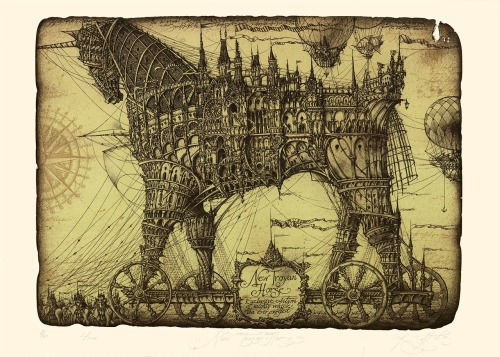 Sustov Roman, New Trojan Horse, 2013