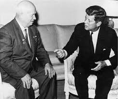 Kruscev e Kennedy incontro a Vienna, 1961