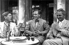 Auden with Cecil Day-Lewis and Stephen Spender