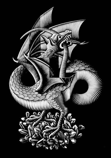 Escher Maurits Cornelis Drago