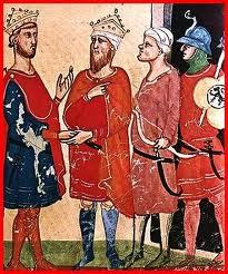 Federico II con dignitari