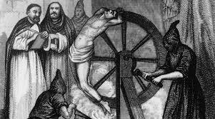 la tortura della ruota
