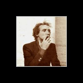 Giuseppe Pedota che fuma foto anni Settanta