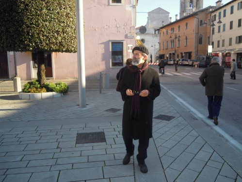 Gezim Hajdari a Udine 2011