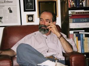 Gezim Hajdari nel suo studio 2006