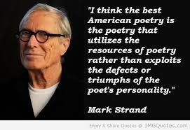 mark strand quote