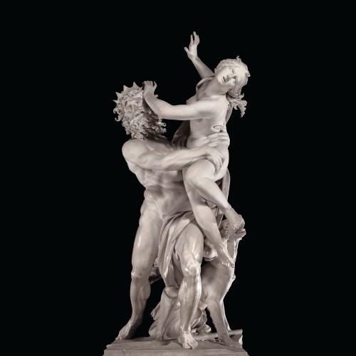 Roma Bernini il ratto di Proserpina 1621