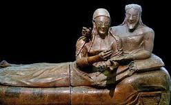 gli sposi etruschi di Volterra