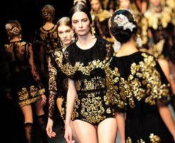Dolce & Gabbana 2013 sfila il barocco siciliano