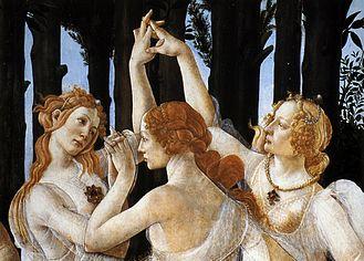 Botticelli Le Grazie
