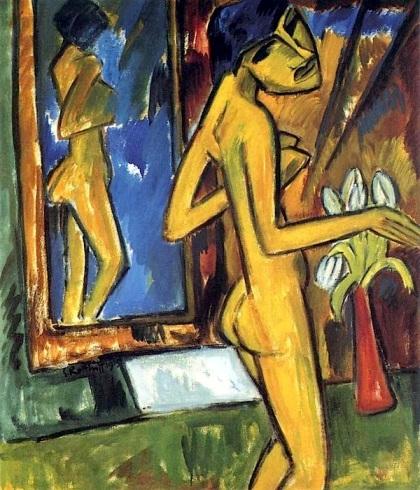 Erich Eckel Il giorno di vetro 1913