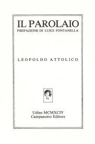 Leopoldo Attolico ilparolaioTOP