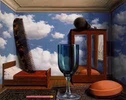 magritte Un an avant sa mort, il composa «Du vert et du blanc », qui représente une vision apocalyptique