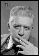 Milano, 11/12/1960 Nella foto: Eugenio Montale