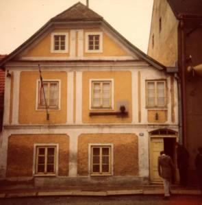 casa natale di Brezina a Počátky (1977)