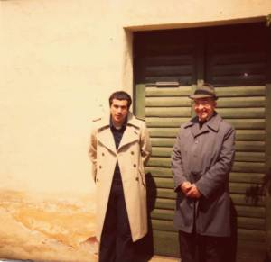 Incontro nel 1977 tra Sagredo e lo scultore Bohuslav Krula, che conobbe 20 enne Brezina nel 1928 a Tasov (Moravia)