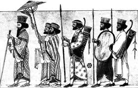 600 a.c soldati persiani