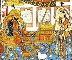 dipinto persiano