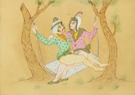 pittura erotica persiana