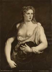 Bordone Paris , Ritratto di cortigiana