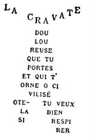 Apollinaire La cravate