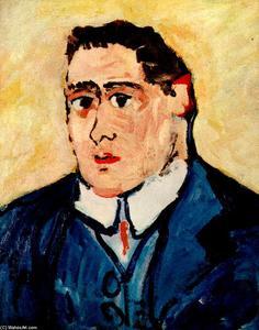 Apollinaire ritratto di Maurice de Vlaminck