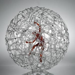Mauro Bonaventura sphere_red_man_giant