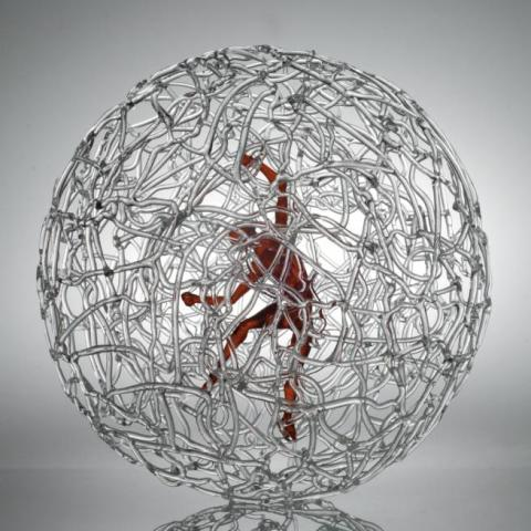Mauro Bonaventura sphere_red_man_giant