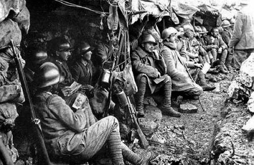 Giuseppe Ungaretti Soldati-in-trincea-Prima-Guerra-Mondiale