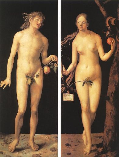 Albrecht Durer_Adam_and_Eve