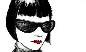 fumetto volto femminile