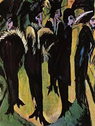 Kirchner 'Cinque donne per strada'