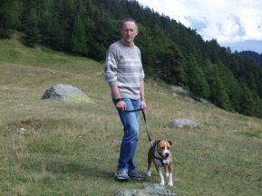 Roberto Bertoldo in montagna