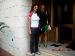 Sabino Caronia e la musa Clio
