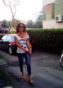 La musa Clio a passeggio per Terracina