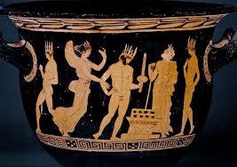 gino rago Cratere a figure rosse, Londra, British Museum