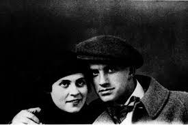 Vladimir Majakovskij e Lilja Brik nel 1915