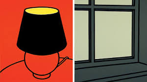 Patrick Caulfield (1936-2005) was one of the pioneers of British Pop Art, his work is my favourite from a British artist and I actually bought, 'I've only the ...
