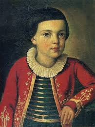 Michail Jur'evič Lermontov bambino