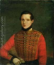 Michail Jur'evič Lermontov ritratto, 1830