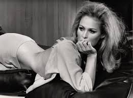 Ursula Andress in La decima vittima directed by Elio Petri, 1965