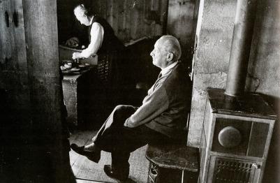 Heidegger nella casa di campagna