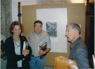 Lucia Gaddo con Luciano Troisio e Cesare Ruffato