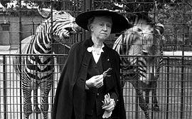 Marianne Moore con tigri