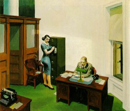 edward hopper-office-night